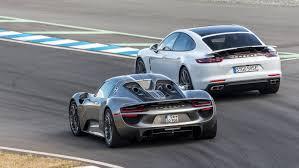 Porsche Panamera Sport Turismo | Vancouver Island Motorsport Circuit