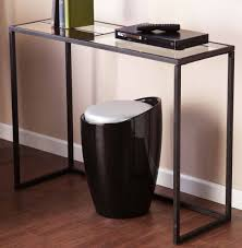 narrow black console table. Console Tables:Black Tables Glass Top : Table Great Depth Ideas Narrow Black O