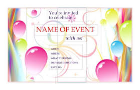 free microsoft publisher microsoft publisher invitation templates birthday flyers templates