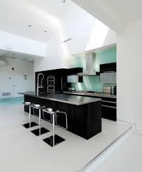 Black And White Modern Kitchen Kitchen Minimalist Black And White Kitchen Decor Ideas Image 9