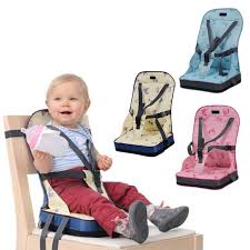 baby dining chair bag baby portable seat oxford water proof fabric infant travel foldable child safety belt