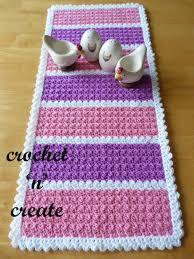Free Crochet Table Runner Patterns Classy Table Runner Free Crochet Pattern Crochet 'n' Create