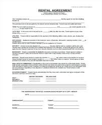 Lease Agreement Example Free Generic Rental Agreement Form Example Basic California