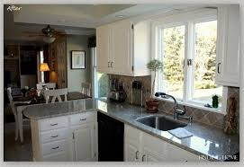 painted white cabinets before and after. kitchen:amazing painted white oak kitchen cabinets before and after 6 f