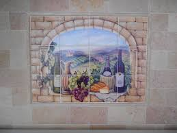 Decorative Wall Tile Murals