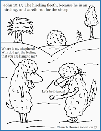 Coloring Pages Sheep And The Shepherd 32 Unique Models You Must