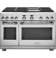 double oven gas range with griddle.  Double ZDP486NDPSS GE Monogram 48 Inside Double Oven Gas Range With Griddle