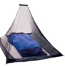 kikar pyramid single compact outdoor mosquito net black