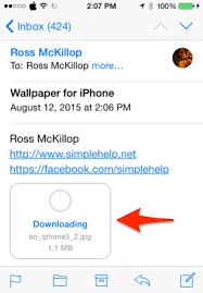How To Download And Set An Image As Your Iphone Wallpaper