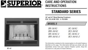lennox superior bc 36 br 36 care and operation manual