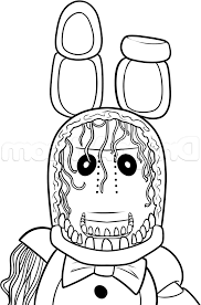 Fnaf Coloring Pages Ps25 Fnaf Coloring Pages Bonnie Colouring Photos