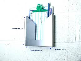 metal wall file holder. Metal File Holder Impressive Steel Wall Smart Mounted Intended For .