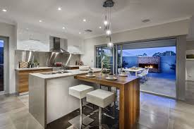 kitchen island breakfast bar pendant lighting glass sliding doors from contemporary kitchen and breakfast bar lighting