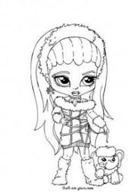 t_b4037fd0 8754 11e3 ba8a ab2c7f100023 abbey bominable , little girl , monster high , coloring page on monster high worksheets