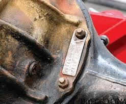 Ford Axle History And Identification Ford Differentials