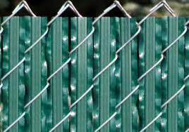 Wonderful Chain Link Fence Slats Close Up For The Ultimate And Decorating Ideas