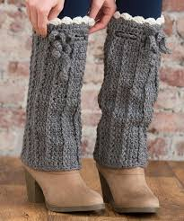 ravelry long boot warmers pattern by alessandra hayden easy to crochet and there s a free pattern these will keep the snow out of your boots