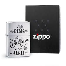 Original Zippo Benzinfeuerzeug Beste Ehefrau Der Welt Bester
