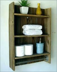 bathroom wall towel storage best of shelving units