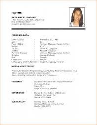 Resume Sample Pdf File Resume Samples Pdf Resumes Sample Malaysia Curriculum Vitae India 6