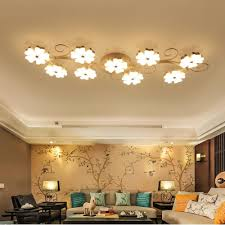 Blossom Ceiling Light 2019 Modern Led Ceiling Lights Plum Blossom Creative Acrylic Ceiling Lamp For Living Room Bedroom Indoor Light Fixtures Lighting Plafonnier From
