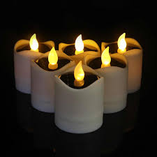Fake Tea Lights Ebay White Battery Operated Tea Lights Pogot Bietthunghiduong Co