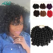 Short Crochet Hair Style 8 bob hairstyle jumpy wand curl twist hairpiece dreadlock 5263 by wearticles.com