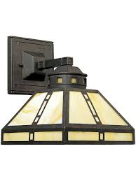 arts and crafts lighting chicago wall sconce in weathered bronze finish