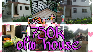 500 Thousand Pesos House Design Ofw Built A Two Floor House For 750k Pesos Budget After 3