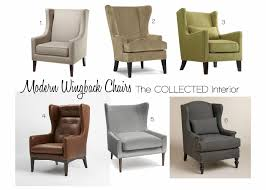 design crush modern wingback chairs modern wing chair92