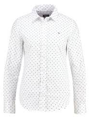 Gant Shirt White Women Clothing Blouses Tunics Shirts