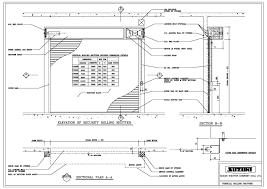 timber sliding door cad details roller door opening details
