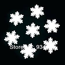outdoor snowflake decorations large hanging ornaments white wooden snowflakes lar