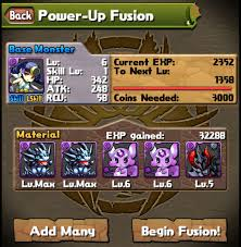 Power Up Fusion Puzzle And Dragons Without The Sarcasm