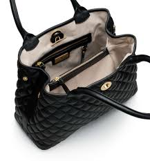 Ladies Quilted Handbags - Black Quilted Handbag - Paolina ... & Description; Specifications ... Adamdwight.com