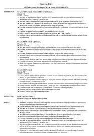 State Job Resume Sample State Manager Resume Samples Velvet Jobs 2