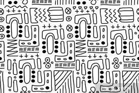 Art Doodle Aboriginal Art Doodle Art Wall Mural Vinyl