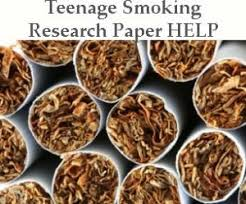 an easy approach to teenage smoking research paper their teen smoking research paper help