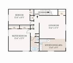 attractive 650 square feet 2 bedroom foot house plans best of floor