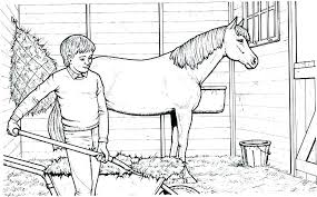 Wild Mustang Horse Coloring Pages Herd To Print D Free Pr For Kids