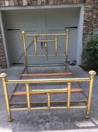 antique brass bed. Antique Vintage Brass Bed Full Size With Rails