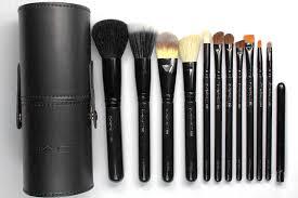 mac black travel brushes makeup brush set and 8 similar items