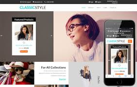 Style Templates Classic Style A E Commerce Flat Bootstrap Responsive Web