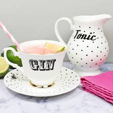 Image result for gin and tonic on garden table