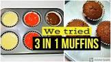 3 in 1 muffins
