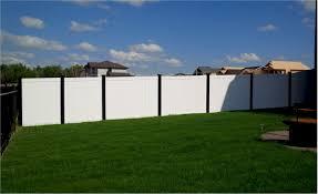 black vinyl privacy fence. Vinyl Privacy Fence Black W