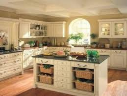 rustic country kitchens with white cabinets. Rustic Kitchen European White Cabinets Oak Cabinet Country Style With Island Plans Kitchens O