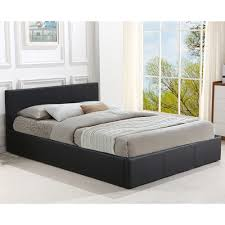 sku leve1054 black plymouth faux leather double bed frame is also sometimes listed under the following manufacturer numbers 1004 d bk