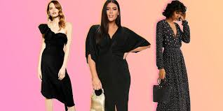 31 black dresses you can wear to a wedding