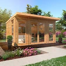 garden rooms. Exellent Rooms 4m X 3m Waltons Insulated Garden Room  FREE Installation On Rooms